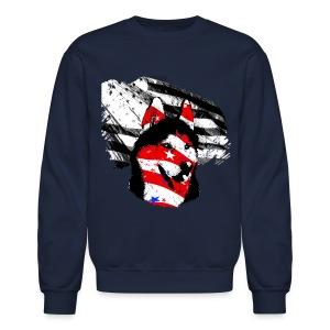 Unisex 'USA Husky w/graphic' CREWNECK SWEATSHIRT - Crewneck Sweatshirt