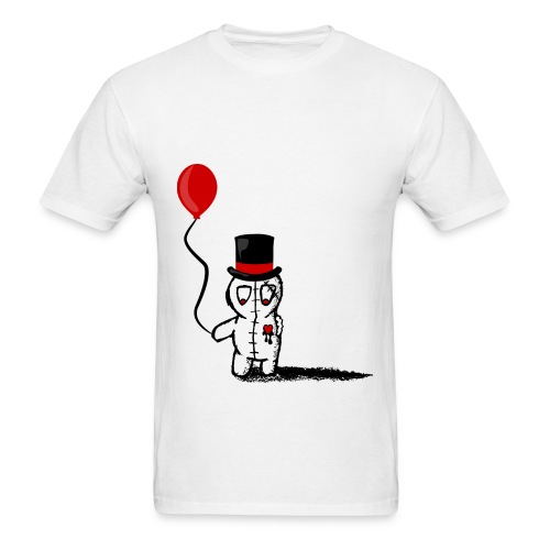 Sad Boy With Balloon - Men's T-Shirt