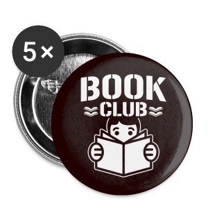 Book Club Button - Small Buttons