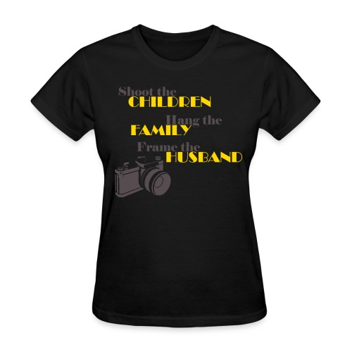 Frame The Husband - Womens Tee - Women's T-Shirt