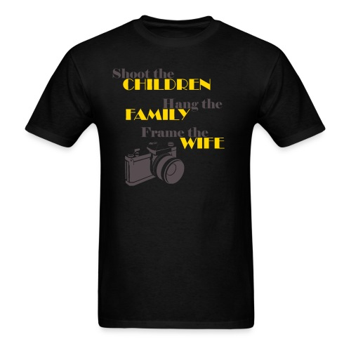 Frame The Wife - Mens Tee - Men's T-Shirt