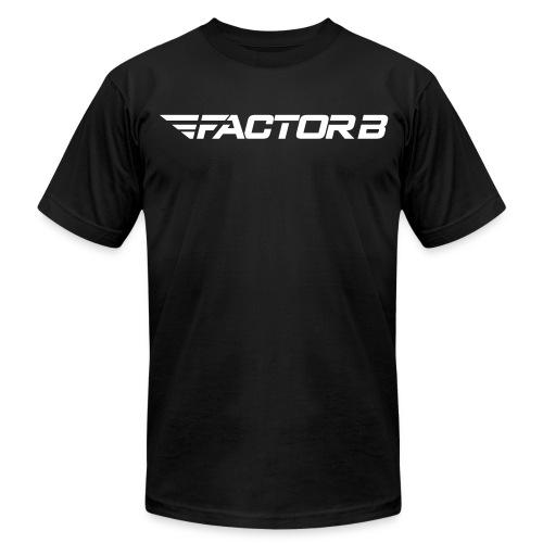 Factor B Word Black - Men's  Jersey T-Shirt