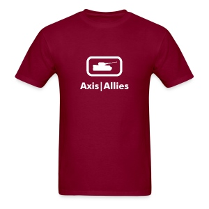 Axis & Allies Small Tank Logo Tee - Men's T-Shirt