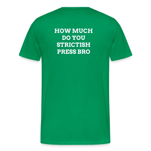 StrictIsh Press  - Men's Premium T-Shirt