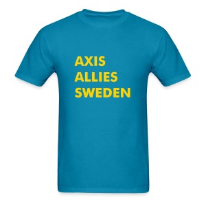 Axis & Allies (Sweden) Tee - Men's T-Shirt