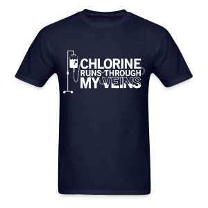 Chlorine Runs Through My Veins - T-Shirt - Men's T-Shirt