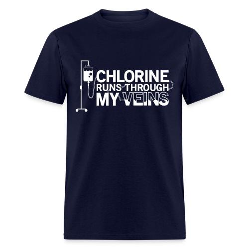 Chlorine Runs Through My Veins - T-Shirt - Men's T-Shirt