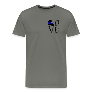 NWLA Love Shirt - Men's Premium T-Shirt
