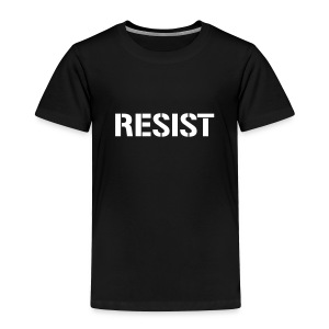 * RESIST stencil font *  - Toddler Premium T-Shirt
