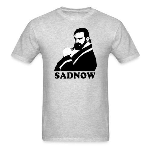 MEGAPOWERS RADIO SADNOW MENS TSHIRT - Men's T-Shirt