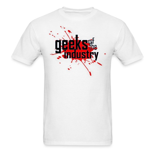 GOFTHEI BLOOD SPLATTER MEN'S TSHIRT - Men's T-Shirt