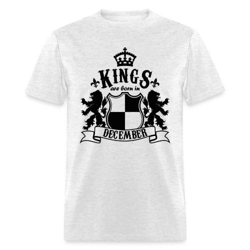 Kings are born in December - Men's T-Shirt