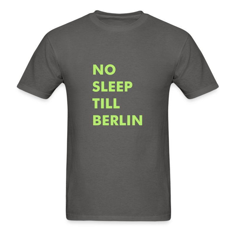 City T-Shirt: No Sleep Till Berlin - Men's T-Shirt