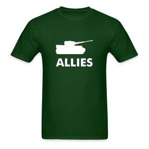 Allies tee with tank - Men's T-Shirt