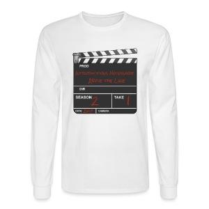 IN: Above The Line Men's Longsleeve Shirt - Men's Long Sleeve T-Shirt