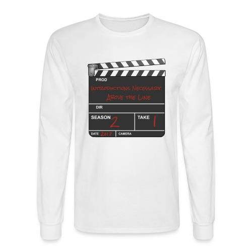 IN: Above The Line Men's Longsleeve Shirt - Men's Long Sleeve T-Shirt