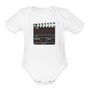 IN: Above The Line Kid's - Short Sleeve Baby Bodysuit