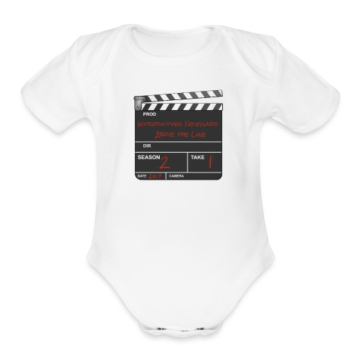IN: Above The Line Kid's - Organic Short Sleeve Baby Bodysuit