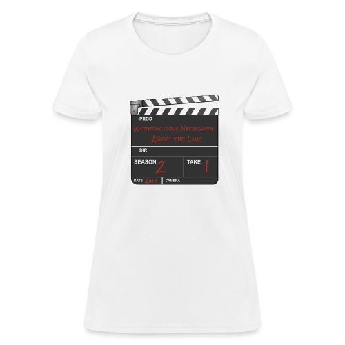IN: Above The Line Women's Shirt - Women's T-Shirt