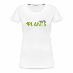 Ladies Powered by Plants - Women's Premium T-Shirt