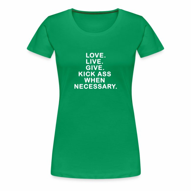 Ladies Love. Live. Give.