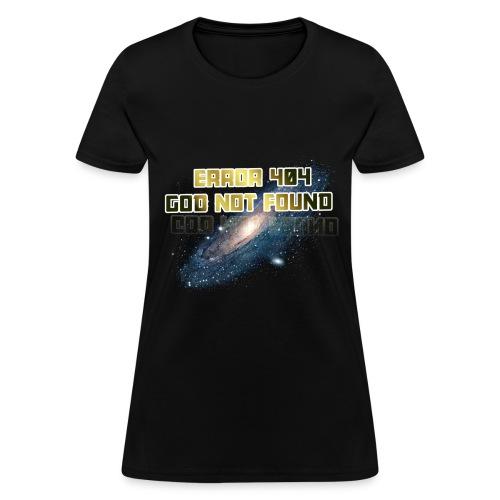 Error 404 (women's tee) - Women's T-Shirt