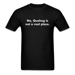 Quahog - Men's T-Shirt
