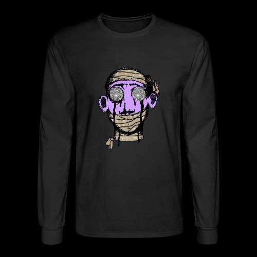 Men's Long Sleeve T-Shirt - They feeding you lies to your eye covering your third eye . You have been mummified by AMERIKKKAA..  MUMMIFEYED  Logo