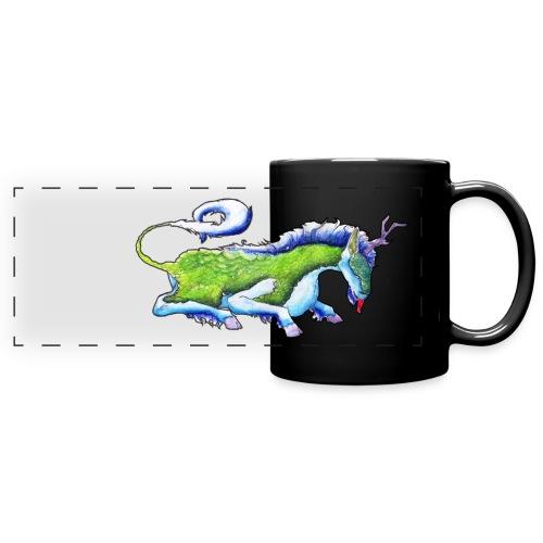 Mythical Space Kirin (chinese unicorn) - Full Color Panoramic Mug