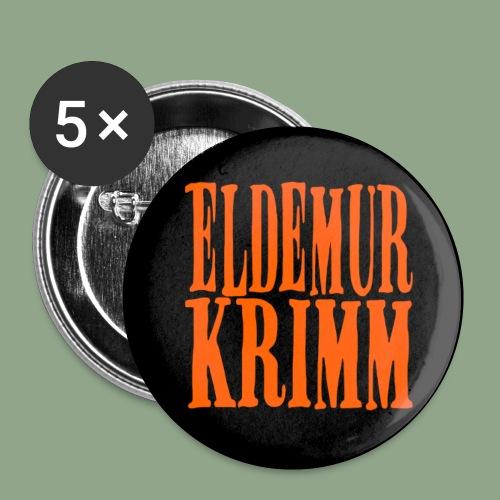 Eldemur Krimm - Logo Button - Small Buttons