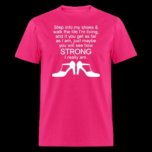 Step Into My Shoes (High Heels) - Men's T-Shirt - Men's T-Shirt