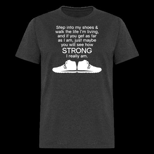 Step Into My Shoes (Tennis Shoes) - Men's T-Shirt - Men's T-Shirt