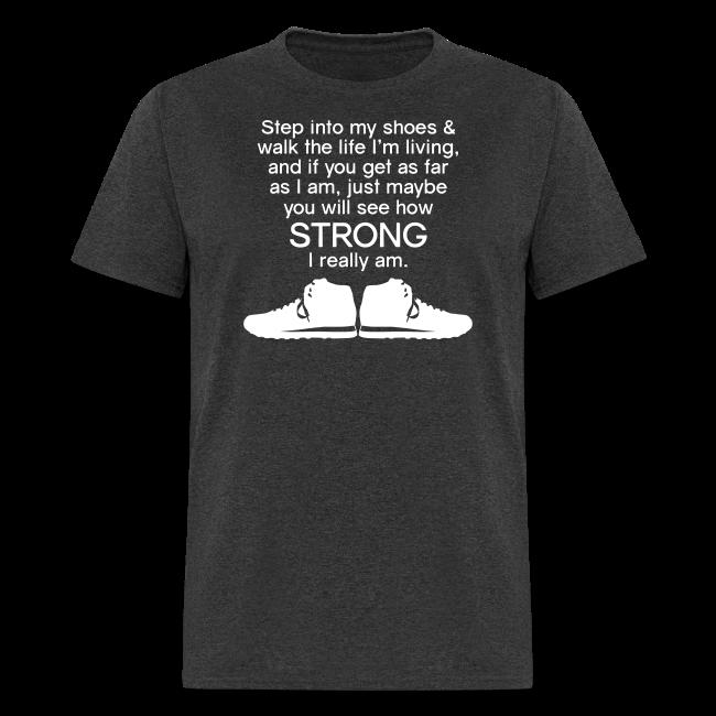 Step Into My Shoes (Tennis Shoes) - Men's T-Shirt