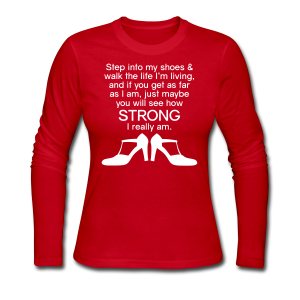 Step Into My Shoes (High Heels) - Women's Long Sleeve - Women's Long Sleeve Jersey T-Shirt