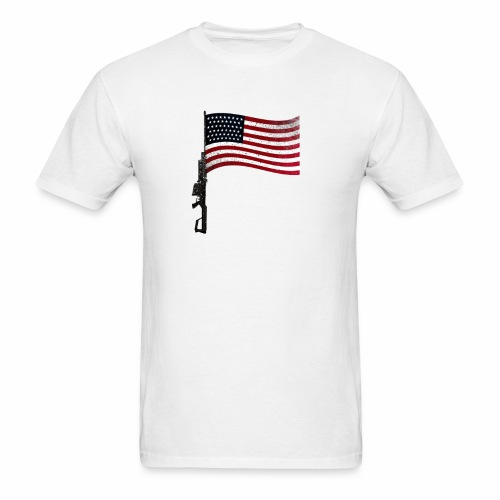 Armed Flag T-  - Men's T-Shirt