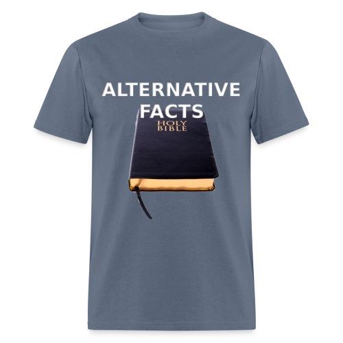 Alternative facts (men's tee) - Men's T-Shirt