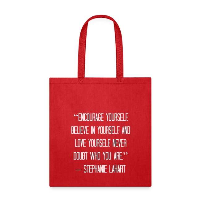 Inspirational Tote Bag Quotes By Stephanie Lahart 4