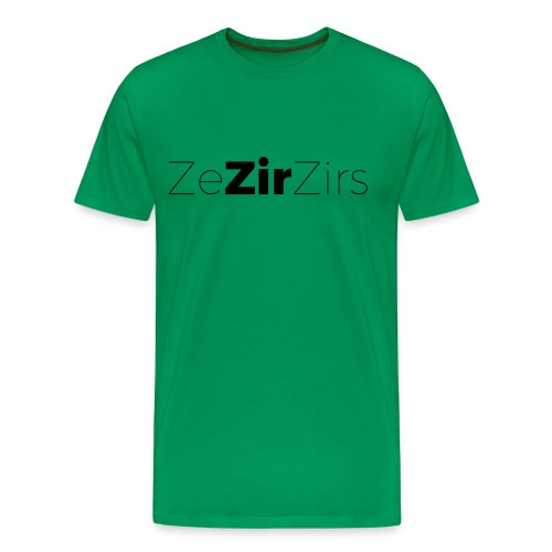 My Pronouns Matter: Zir - Men's Premium T-Shirt