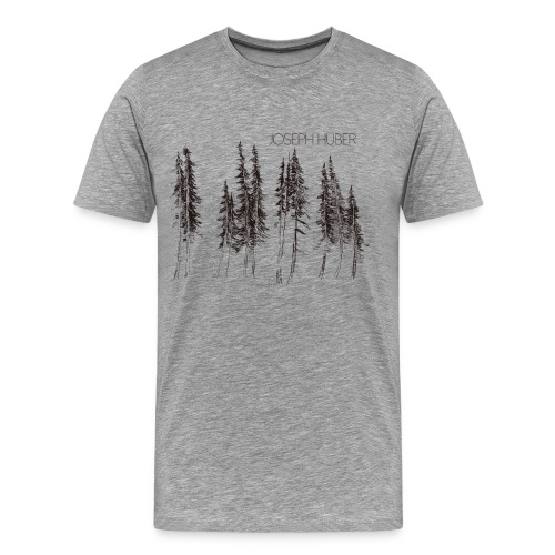 Fir Trees Men's Premium T-Shirt - Men's Premium T-Shirt