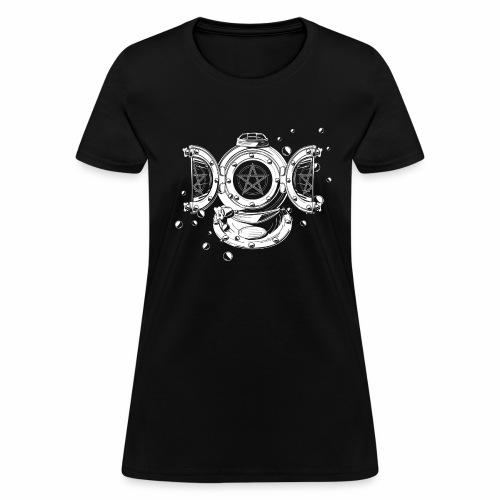 Steampunk Triple Moon Women's Tee - Women's T-Shirt