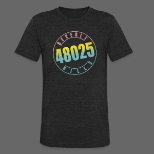 Beverly Hills 48025 - Unisex Tri-Blend T-Shirt by American Apparel
