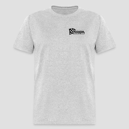 Destination: Victory Lane Logo front/back T - Men's T-Shirt