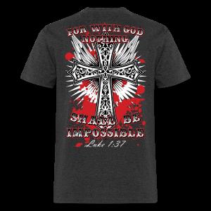 Luke 1:37 - Men's T-Shirt