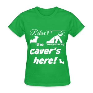 Women's T-Shirt Relax the Caver's Here - Women's T-Shirt