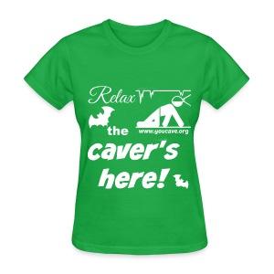 Women's T-Shirt Relax the Caver's Here - Women's T-Shirt