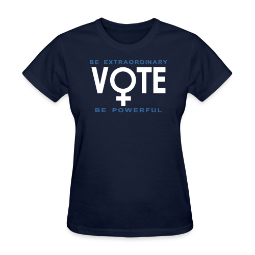 She Votes - Women's T-Shirt