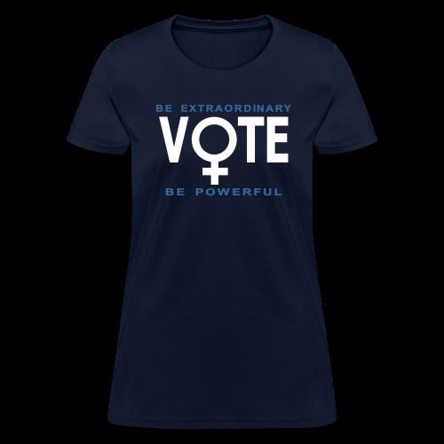 She Votes - Women's T-Shirt