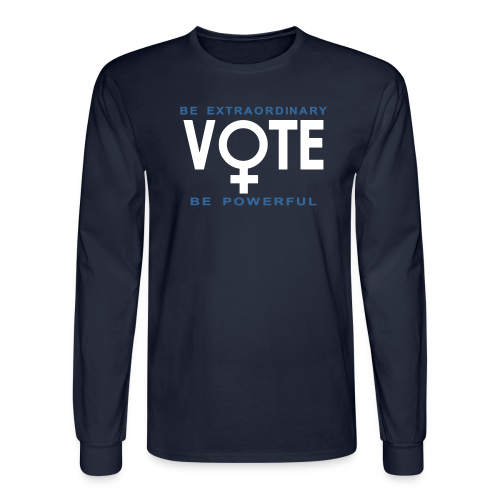 She Votes - Men's Long Sleeve T-Shirt