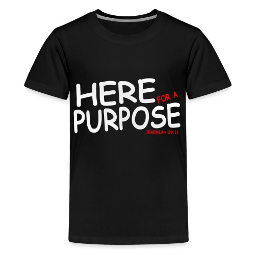 Kids Here For A Purpose Official Shirt - Kids' Premium T-Shirt