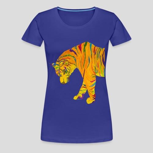 Contemplative Tiger women's t-shirt - Women's Premium T-Shirt